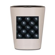 Lounge Leather - Black Shot Glass