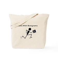 Sonographer Ultrasound Tech Tote Bag