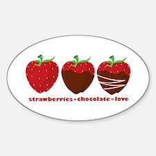 Strawberries & Chocolate Decal