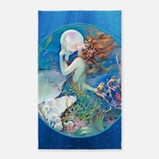 Clive Pearl Mermaid 3'x5' Area Rug