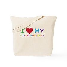 I love my kindergartners Tote Bag