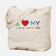 I love my kindergartners Tote Bag