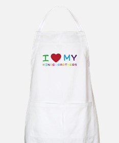 I love my kindergartners Apron