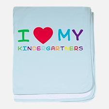 I love my kindergartners baby blanket