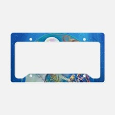 Clive Pearl Mermaid License Plate Holder