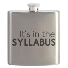 It's in the syllabus Flask