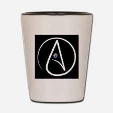 atheism earth Shot Glass