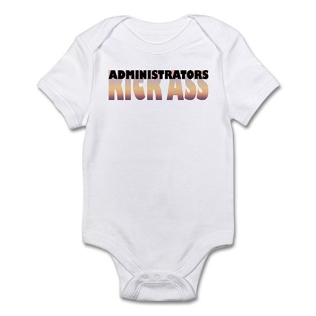 Administrators Kick Ass Infant Bodysuit