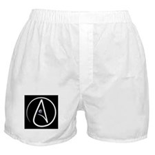 atheism earth Boxer Shorts