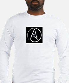 atheism earth Long Sleeve T-Shirt