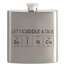 Let's cuddle & talk science Flask