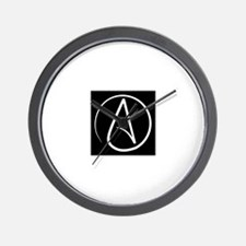 atheism earth Wall Clock