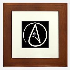 atheism earth Framed Tile