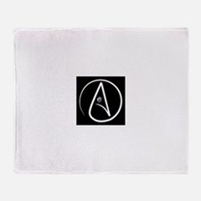 atheism earth Throw Blanket