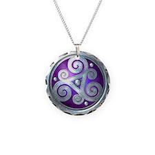 Celtic Double Triskelion - Necklace