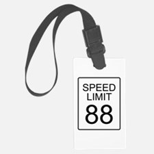88 Miles per Hour Luggage Tag