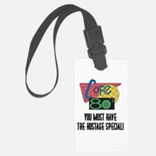 Cafe 80s Hostage Special Luggage Tag