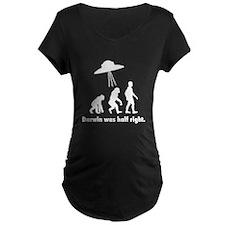 Darwin Was Half Right T-Shirt
