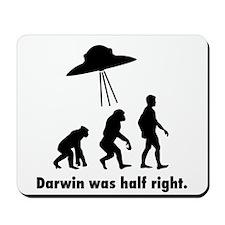 Darwin Was Half Right. Mousepad
