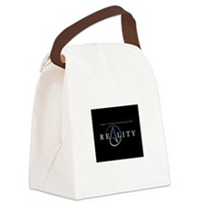 atheism reality Canvas Lunch Bag
