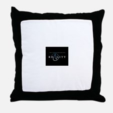 atheism reality Throw Pillow