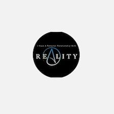 atheism reality Mini Button (100 pack)