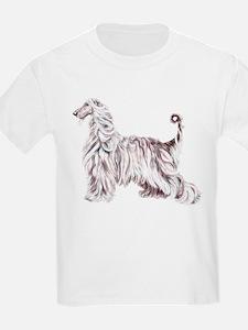 Afghan Hound Elegance T-Shirt