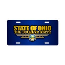 Ohio (v15) Aluminum License Plate