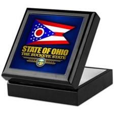 Ohio (v15) Keepsake Box