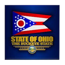 Ohio (v15) Tile Coaster