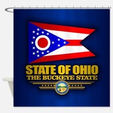 Ohio (v15) Shower Curtain