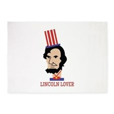 Lincoln Lover 5'x7'Area Rug