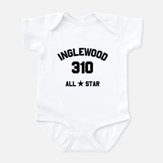 """""""INGLEWOOD 310 ALL-STAR"""" Infant Bodysuit"""
