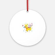 Candy Smuggler Ornament (Round)