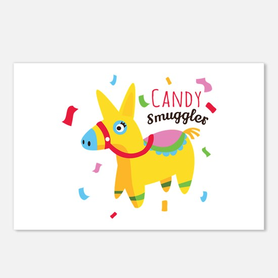 Candy Smuggler Postcards (Package of 8)