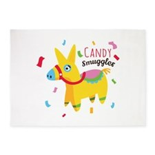 Candy Smuggler 5'x7'Area Rug