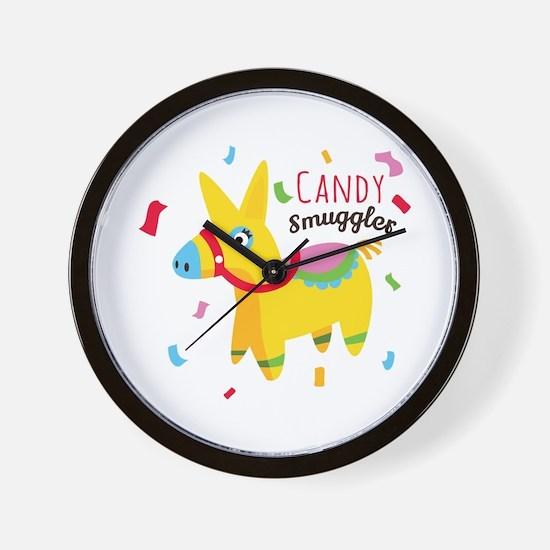 Candy Smuggler Wall Clock