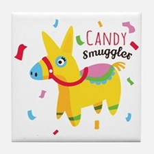 Candy Smuggler Tile Coaster