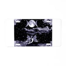 dark angel Aluminum License Plate