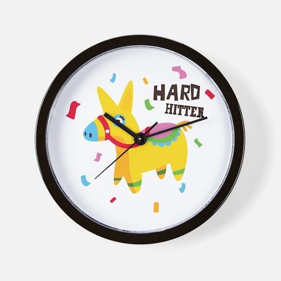 Hard Hitter Wall Clock