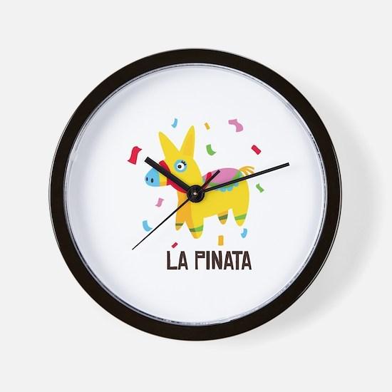 La Pinata Wall Clock