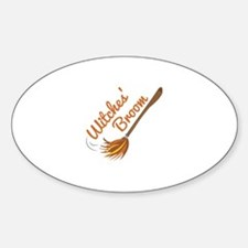 Witches Broom Decal