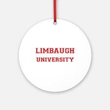 LIMBAUGH UNIVERSITY Ornament (Round)