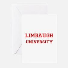 LIMBAUGH UNIVERSITY Greeting Cards (Pk of 10)
