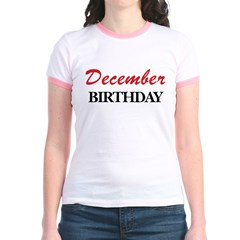 December birthday T