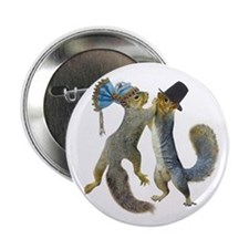 """Dancing Squirrel 2.25"""" Button (10 pack)"""