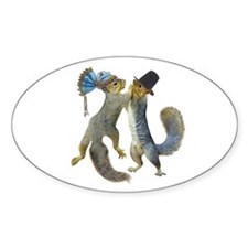 Dancing Squirrel Decal