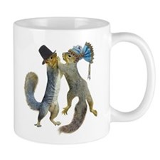 Dancing Squirrel Mug