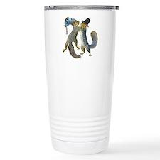 Dancing Squirrel Travel Mug