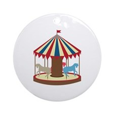 Lost At Fair Ornament (Round)